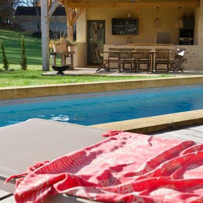 Charming guesthouse sarlat with heated pool